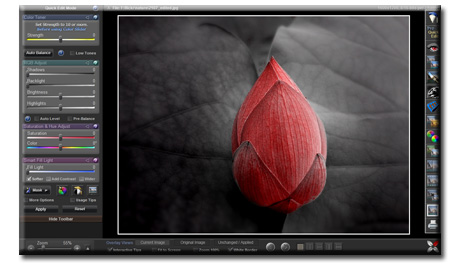 Click to view LightBox Free Image Editor 2.0 screenshot